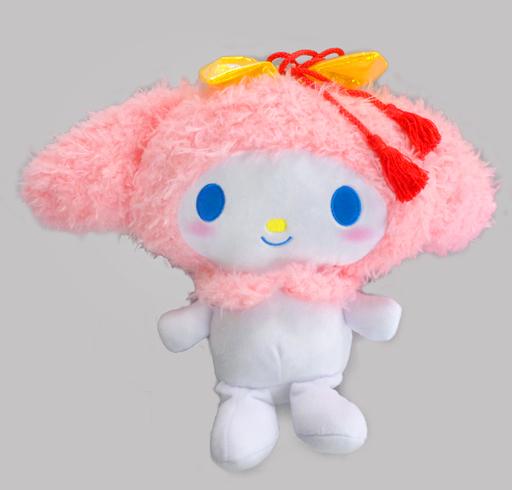 【中古】ぬいぐるみ メロディ(ピンク) 雪の華BIGぬいぐるみ 「マイメロディ」