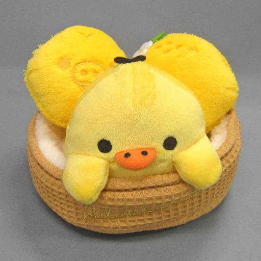 【中古】ぬいぐるみ キイロイトリ フレッシュレモンテーマ あつめてぬいぐるみ 「リラックマ」 リラックマストア限定