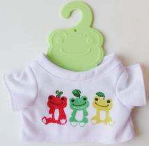 【新品】ぬいぐるみ ピクルス ミニTシャツ(フルーツ) ビーンドール用コスチューム 「pickles the frog-かえるのピクルス-」