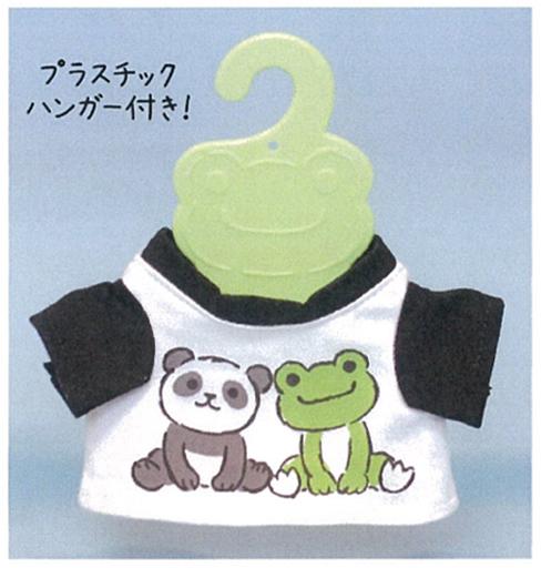 【予約】ぬいぐるみ ピクルス ミニTシャツ(パンダ) ビーンドール用コスチューム 「pickles the frog-かえるのピクルス-」