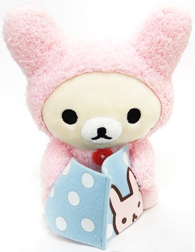 【中古】ぬいぐるみ コリラックマ(ウサギ) やんちゃないたずらぬいぐるみ 「リラックマ」