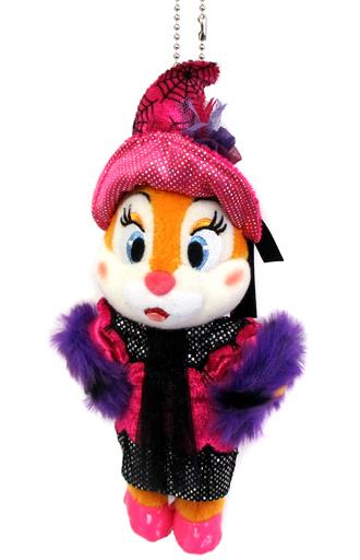 【中古】ぬいぐるみ クラリス(ハロウィーン・ポップンライブ) ぬいぐるみバッジ 「ディズニー・ハロウィーン2017」 東京ディズニーランド限定