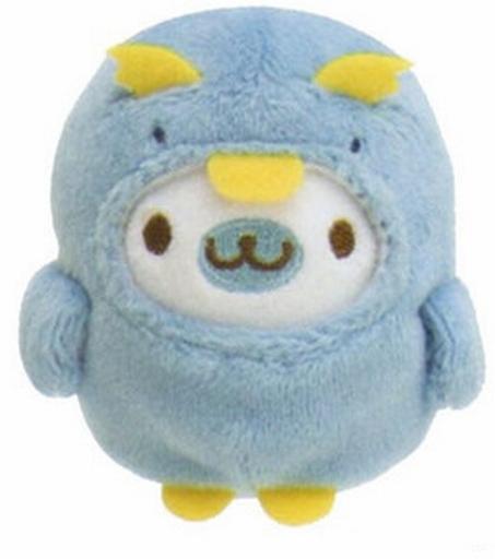【中古】ぬいぐるみ ペンギン(ブルー) てのりぬいぐるみ まめゴマコレクションinアクアリウムテーマ 「まめゴマ」