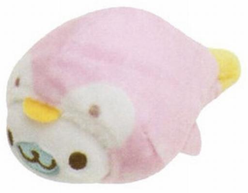 【中古】ぬいぐるみ ペンギン(ピンク) てのりぬいぐるみ まめゴマコレクションinアクアリウムテーマ 「まめゴマ」