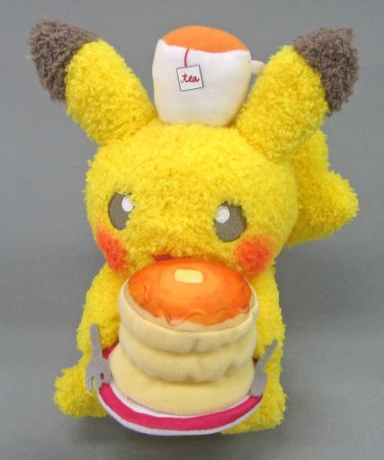 【中古】ぬいぐるみ ピカチュウ[pancake] Pokemon meets Karel Capek ぬいぐるみ 「ポケットモンスター」 ポケモンセンター限定