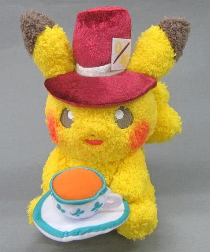 【中古】ぬいぐるみ ピカチュウ[silkhat] Pokemon meets Karel Capek ぬいぐるみ 「ポケットモンスター」 ポケモンセンター限定