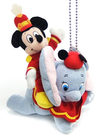 【中古】ぬいぐるみ ミッキーマウス&ダンボ ぬいぐるみバッジ 「東京ディズニーランド 22th アニバーサリー」 東京ディズニーランド限定