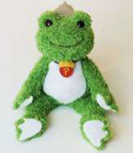 【予約】ぬいぐるみ ピクルス(ドングリ) ビーンドール 森のピクルスシリーズ 「pickles the frog-かえるのピクルス-」