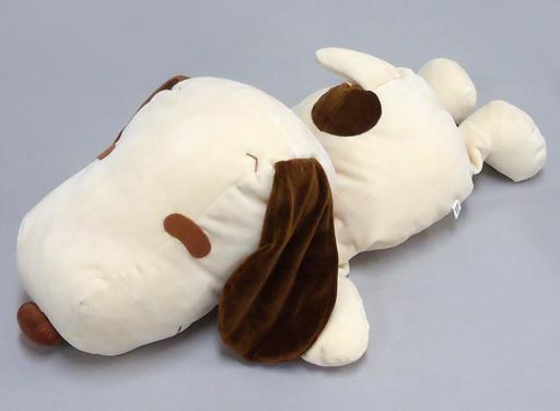 【中古】ぬいぐるみ 寝そべりぬいぐるみ(茶/BIGサイズ) スヌーピー 【PEANUTS(SNOOPY)】