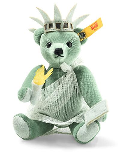 Steiff(シュタイフ) 新品 ぬいぐるみ Great Escapes New York Teddy bear in giftbox-テディベア イン ギフトボックス(ニューヨーク)- 15cm
