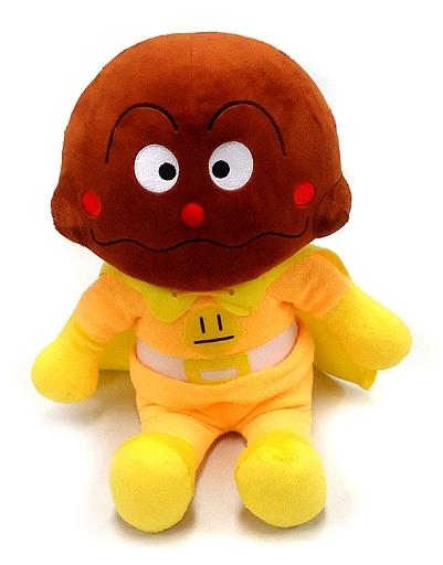 吉徳 新品 ぬいぐるみ カレーパンマン 抱き人形ソフト(ぬいぐるみ) 「それいけ!アンパンマン」