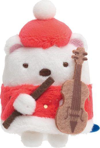 サンエックス 新品 ぬいぐるみ しろくま てのりぬいぐるみ クリスマスver. 「すみっコぐらし」