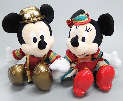 ミッキーマウス&ミニーマウス(ホライズンベイ・レストラン) ぬいぐるみセット 「ディズニー」 東京ディズニーシー限定
