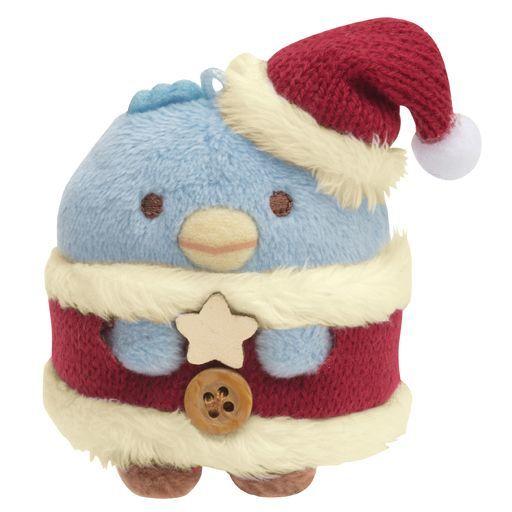 サンエックス 新品 ぬいぐるみ ぺんぎん(本物/2020) てのりぬいぐるみ クリスマスver. 「すみっコぐらし」
