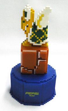 【中古】ペットボトルキャップ 9.PATAPATA 「スーパーマリオブラザーズ」 ペプシ ドットボトルキャップ