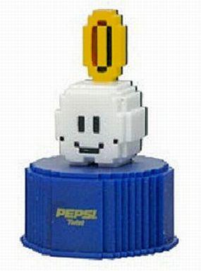 【中古】ペットボトルキャップ 30.COIN 「スーパーマリオブラザーズ」 ペプシ ドットボトルキャップ