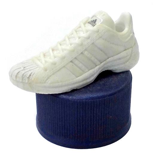 【中古】ペットボトルキャップ No.29 SPST-SPR white x enamel white 「PEPSI adidasスニーカーボトルキャップ」