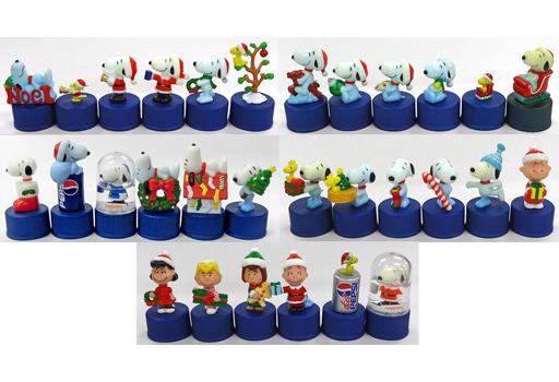 【中古】ペットボトルキャップ 全30種セット スヌーピー 第2弾 ペプシボトルキャップ