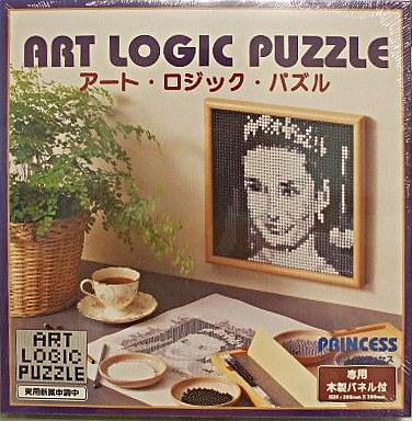 パペルクリエイション 新品 パズル ◆プリンセス アート・ロジック・パズル 専用木製パネル付