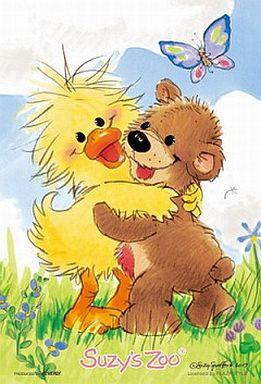 【中古】パズル Hug Me! 「スージーズー」ジグソーパズル 108ピース[M108-005]
