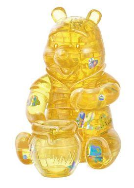 【中古】パズル クリスタルギャラリー くまのプーさん ハニーイエロー 「くまのプーさん」 3Dパズル 38ピース