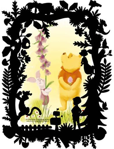【新品】パズル KIRIART-Winnie the Pooh- 「くまのプーさん」 プリズムアートプチジグソーパズル 70ピース [97-189]