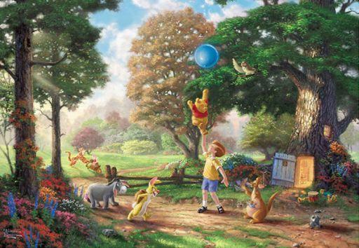 【予約】パズル Winnie The Pooh II 「くまのプーさん」 ジグソーパズル 1000ピース [D-1000-030]