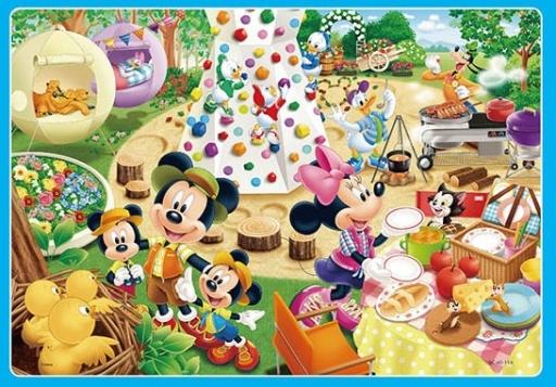 テンヨー 新品 パズル キャンプじょうでさがそう! 「ディズニー」 チャイルドパズル 60ピース [DC-60-116]