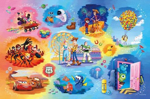 エポック社 新品 パズル Disney・Pixar Collection(ディズニー・ピクサー・コレクション) 「ディズニー」 パズルデコレーション ジグソーパズル 500ピース [97-003]