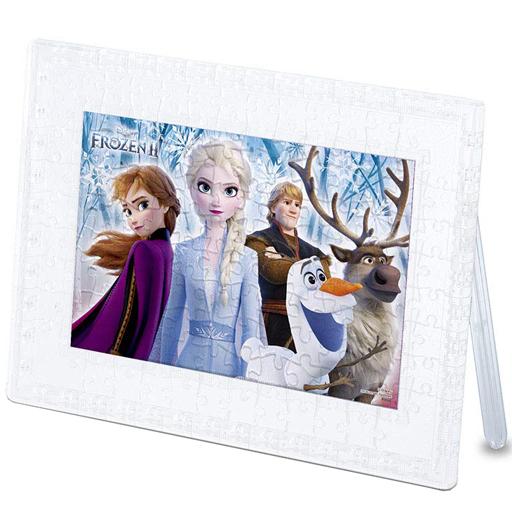 やのまん 新品 パズル アナと雪の女王2 「アナと雪の女王2」 クリスタルスタンドパズル 132ピース [2500-41]