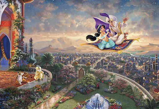 テンヨー 新品 パズル Aladdin 「アラジン」 ジグソーパズル 1000ピース [D1000-049]