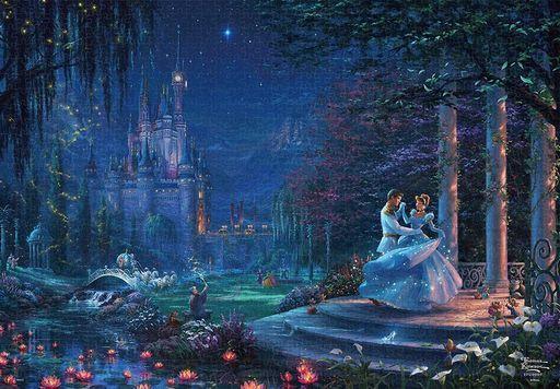テンヨー 新品 パズル Cinderella Dancing in the Starlight 「シンデレラ」 ジグソーパズル1000ピース [D1000-068]