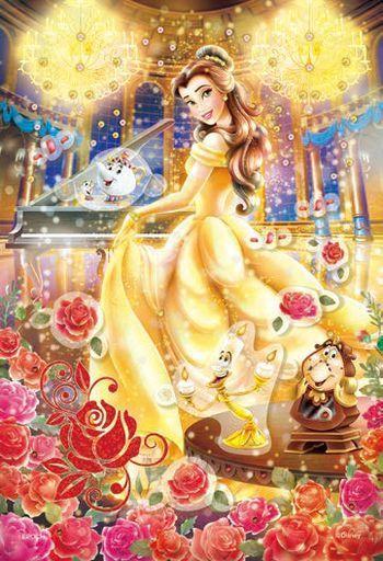 エポック社 新品 パズル Belle -Dreamy Dance -ベル -ドリーミーダンス- 「ディズニープリンセス」 ポップアップパズルデコレーション 300ピース [73-303]