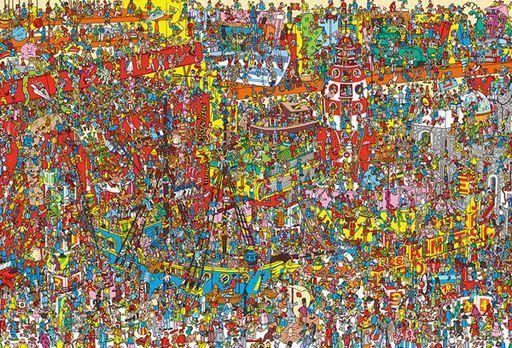 ビバリー 新品 パズル Where's Wally? おもちゃがいっぱい 「ウォーリーを探せ!」 ジグソーパズル 2000スモールピース [S92-503]