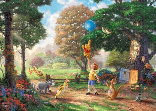 テンヨー 新品 パズル Winnie The Pooh II 「くまのプーさん」 ジグソーパズル 2000ピース [D2000-629]