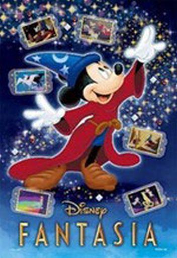 エポック社 新品 パズル FANTASIA -Magic-(ファンタジア -マジック-) 「ディズニー」 ポップアップデコレーションパズル 300ピース [73-307]