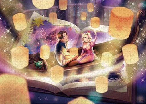 テンヨー 新品 パズル 輝く奇跡の物語(塔の上のラプンツェル) 「ディズニープリンセス」 ジクソーパズル 500ピース [D500-621]