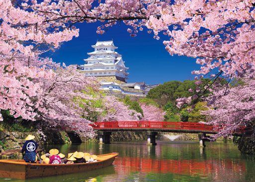 ビバリー 新品 パズル 桜彩る姫路城 「世界遺産」 ジグソーパズル 600ピース [66-157]