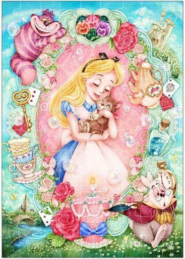 テンヨー 新品 パズル 愛しいぬくもり(アリス) 「ディズニー」 エレガンスシリーズ ジグソーパズル 108ピース [D108-012]
