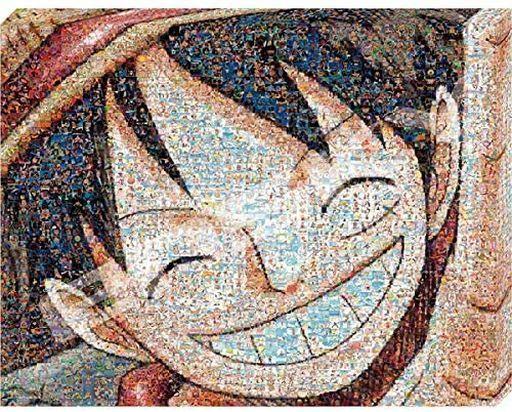 エンスカイ 新品 パズル ワンピースモザイクアート 【ルフィ】 「ワンピース」 アートボードジグソーパズル 366ピース [ATB-33]