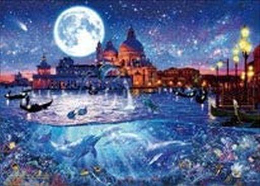 エポック社 新品 パズル ヴェネツィア ワールドトラベル 「クリスチャン・ラッセン」 世界最小 光るジグソーパズル 2000スーパースモールピース [54-714]