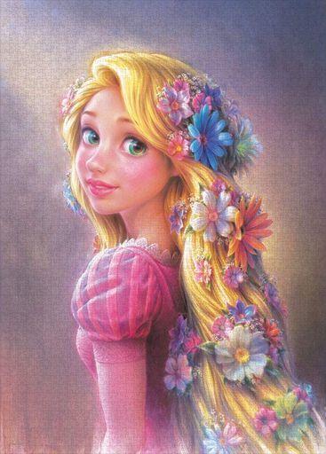 テンヨー 新品 パズル 輝く髪のプリンセス(ラプンツェル) 「塔の上のラプンツェル」 ジグソーパズル 2000ピース [D2000-633]
