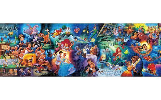 テンヨー 予約 パズル ディズニーキャラクター名場面集 「ディズニー」 ジグソーパズル ぎゅっと456ピース [DG456-741]