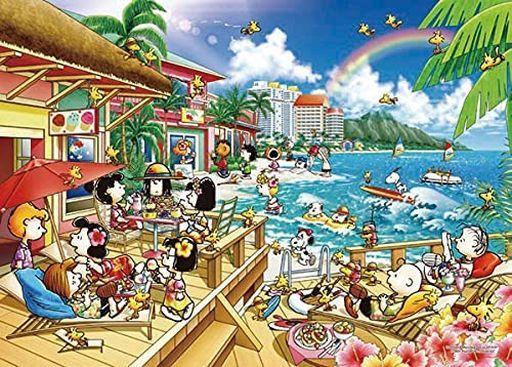 エポック社 新品 パズル ピーナッツ ビーチリゾート 「PEANUTS-ピーナッツ-」 世界最小ジグソーパズル 2000スーパースモールピース [54-218S]