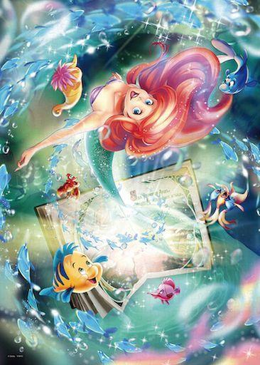 テンヨー 新品 パズル 一途な愛の物語 「リトル・マーメイド」 ジグソーパズル 500ピース [D500-625]