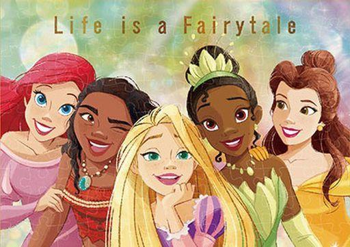 テンヨー 新品 パズル Life is a Fairytale 「ディズニープリンセス」 ジグソーパズル 108ピース [D108-016]