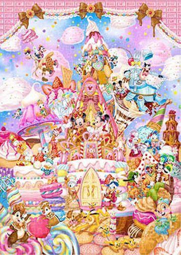 テンヨー 新品 パズル ミッキーのスイート キングダム 「ディズニー」 ジグソーパズル 300ピース [D300-053]