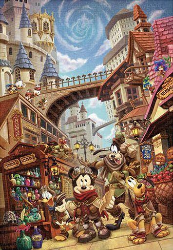 テンヨー 予約 パズル アナザー・ワールド 冒険のはじまり 「ディズニー」 ジグソーパズル 1000ピース [D1000-084]