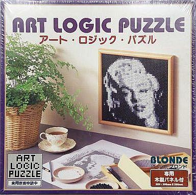 パペルクリエイション 新品 パズル ◆ブロンド アート・ロジック・パズル 専用木製パネル付