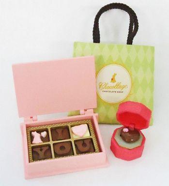 1.エンゲージチョコ 「ぷちサンプルシリーズ82 チョコレートショップ」